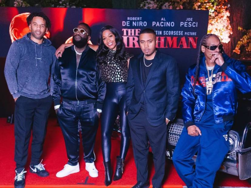 Nas, Snoop Dogg, Rick Ross, Jay Rock & More Attend 'The Irishman' Dinner