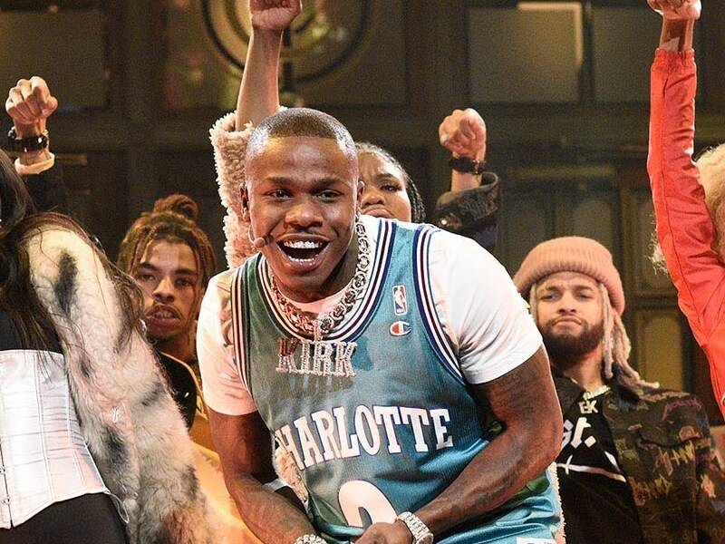 """DaBaby Performs """"BOP"""" & """"Suge"""" On 'Saturday Night Live'"""