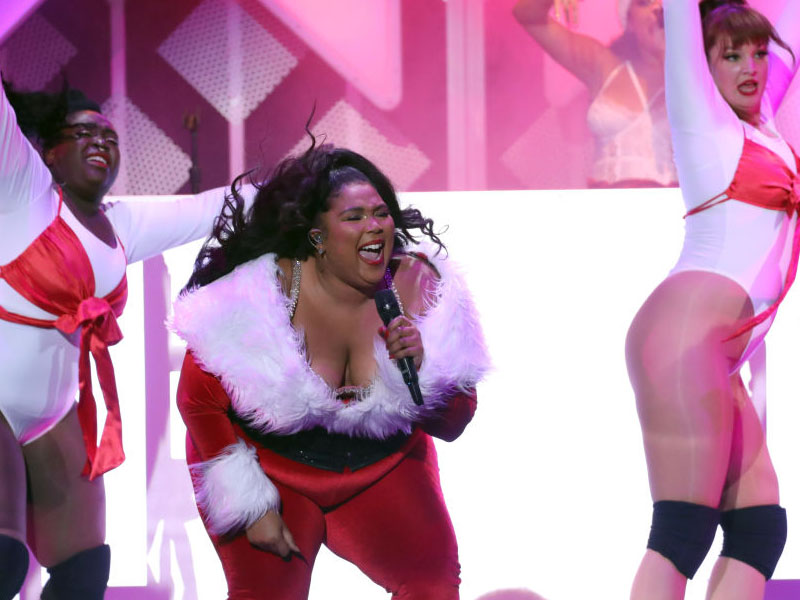 Lizzo Tells Her Fat Shamers To Worry About Their 'Own God Damn Bodies'
