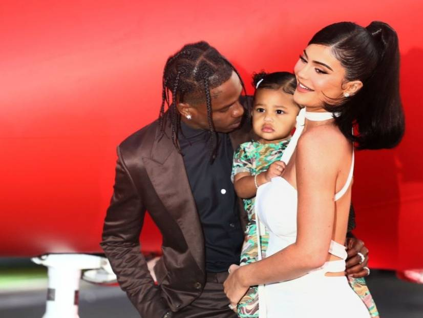 Travis Scott & Kylie Jenner's Daughter Stormi Gets A Life-Sized Playhouse For Christmas