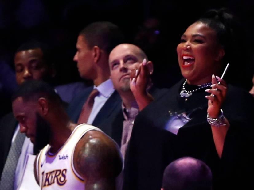 Houston Rockets Invite Lizzo To Shake With The Cheerleaders