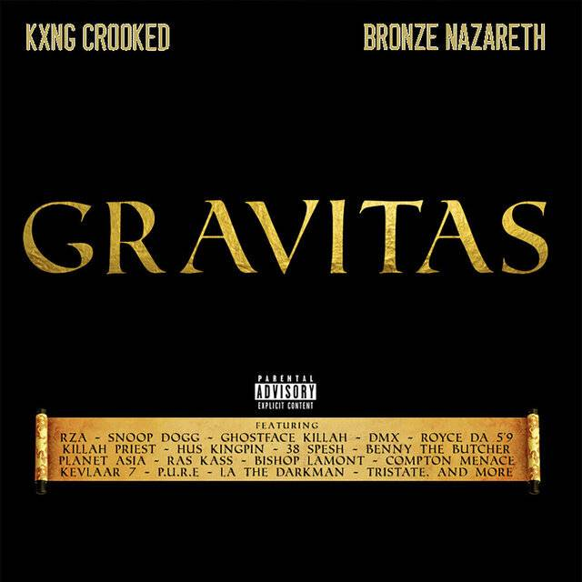 Review: KXNG Crooked & Bronze Nazareth Drop Off Throwback Goodness On 'Gravitas'