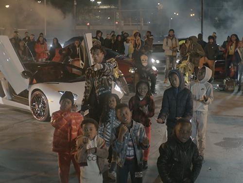 Lil Baby Gotas De Estacionamiento Proxenetismo 'Woah' Video