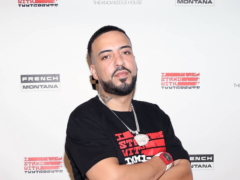 "French Montana Leaks ""Power"" Clip Amid 50 Cent Feud"