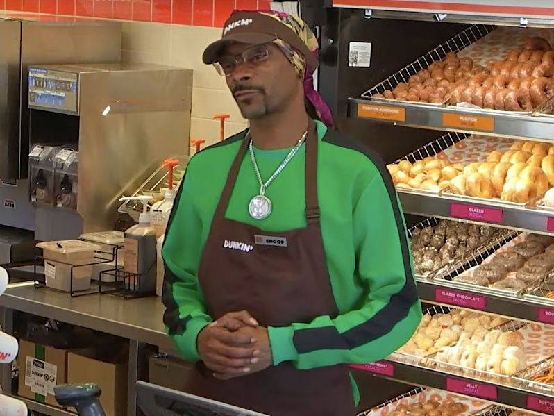 Snoop Dogg Unveils New Dunkin' Donuts Sandwich Called The 'Beyond D-O-Double-G'