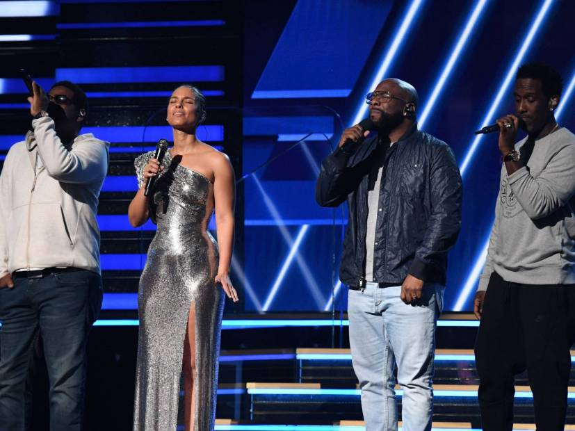 Alicia Keys Brings Out Boyz II Men At 2020 Grammys For Emotional Kobe Bryant Tribute