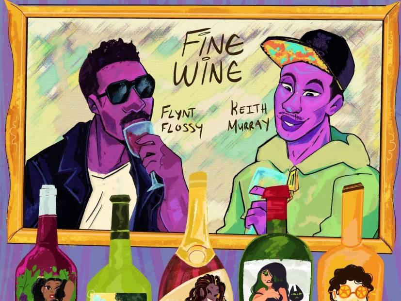 #DXCLUSIVE: Keith Murray & Flynt Flossy Celebrate Women In 'Fine Wine' Video