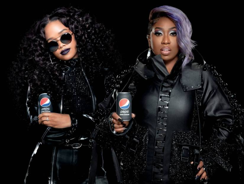 Missy Elliott & H. E. R. Co-Star In Pepsi Zero Sugar Super Bowl Commercial