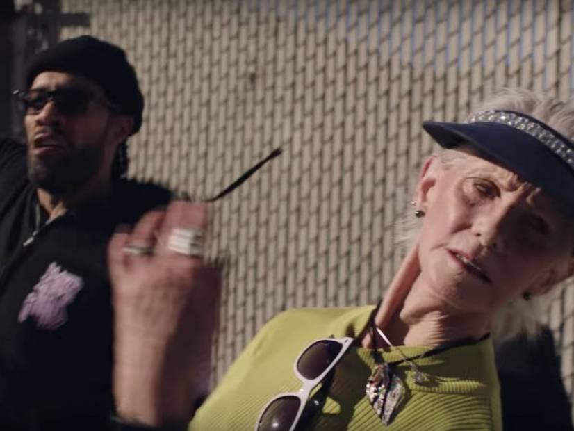 Redman Exercises His Pimp Hand On 'Slap Da Shit Outcha' Video