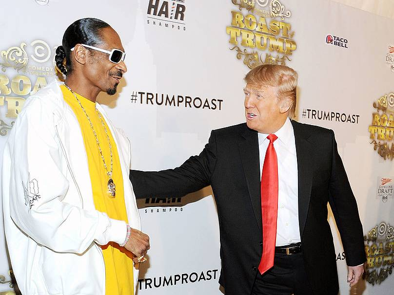Snoop Dogg Shares Throwback Clip Of Him Roasting Donald Trump's Presidential Aspirations
