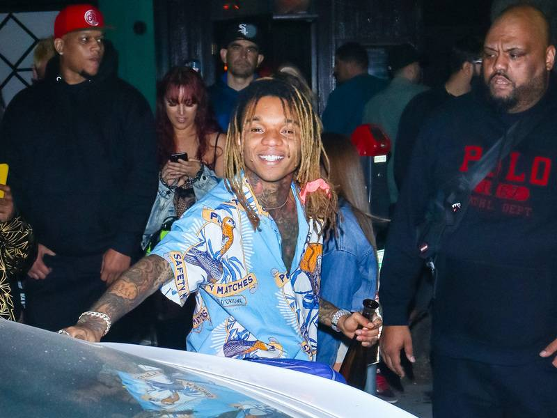 Swae Lee Explains Why He fell Asleep In the Super Bowl LIV