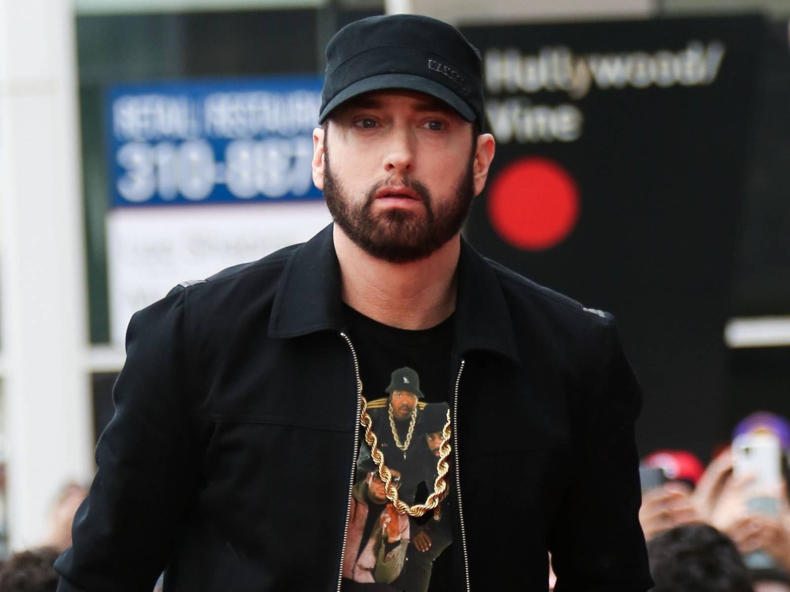 Eminem's Real Life Stan Has Allegedly Been Stalking Him For Months