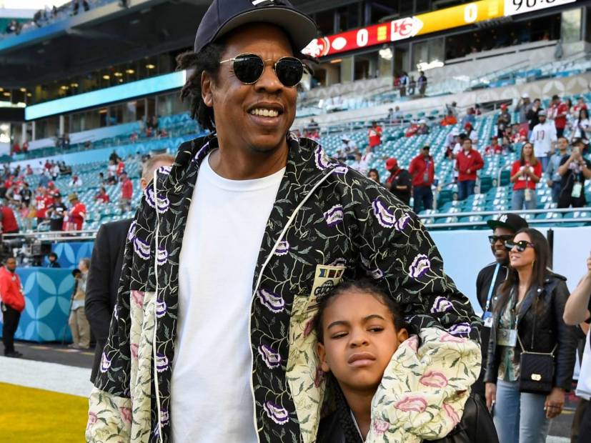 JAY-Z Reveals Why He & Beyoncé Were Seated During Super Bowl National Anthem