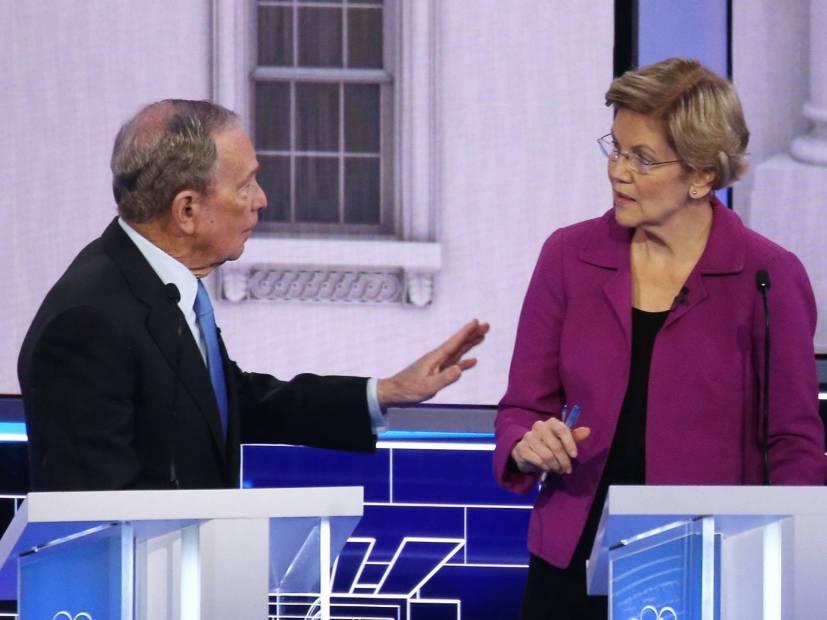 Someone Set Elizabeth Warren's Roast Of Mike Bloomberg To Nas' 'Ether' Beat