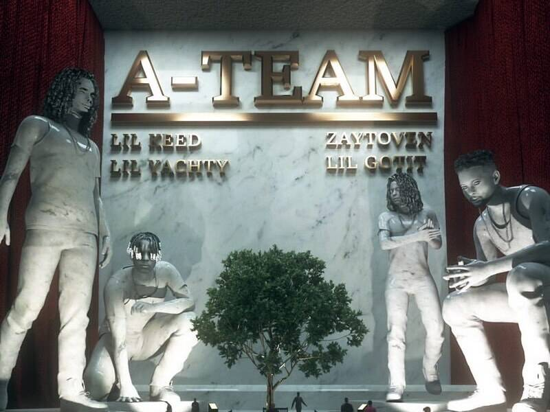 Zaytoven, Lil Yachty, Lil Keed & Lil Gotit Connect For 'A-Team' Project