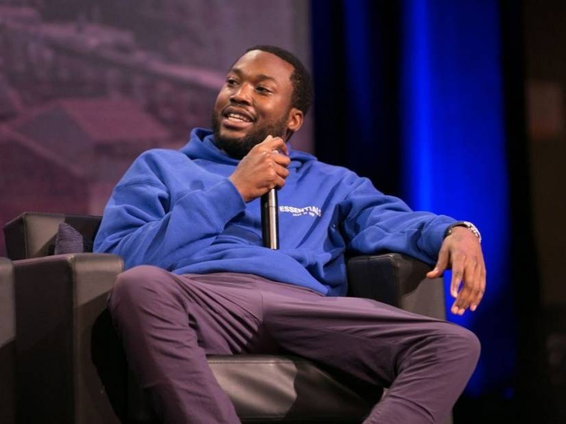 Meek Mill Offers His Son $1000 To Eat Crickets