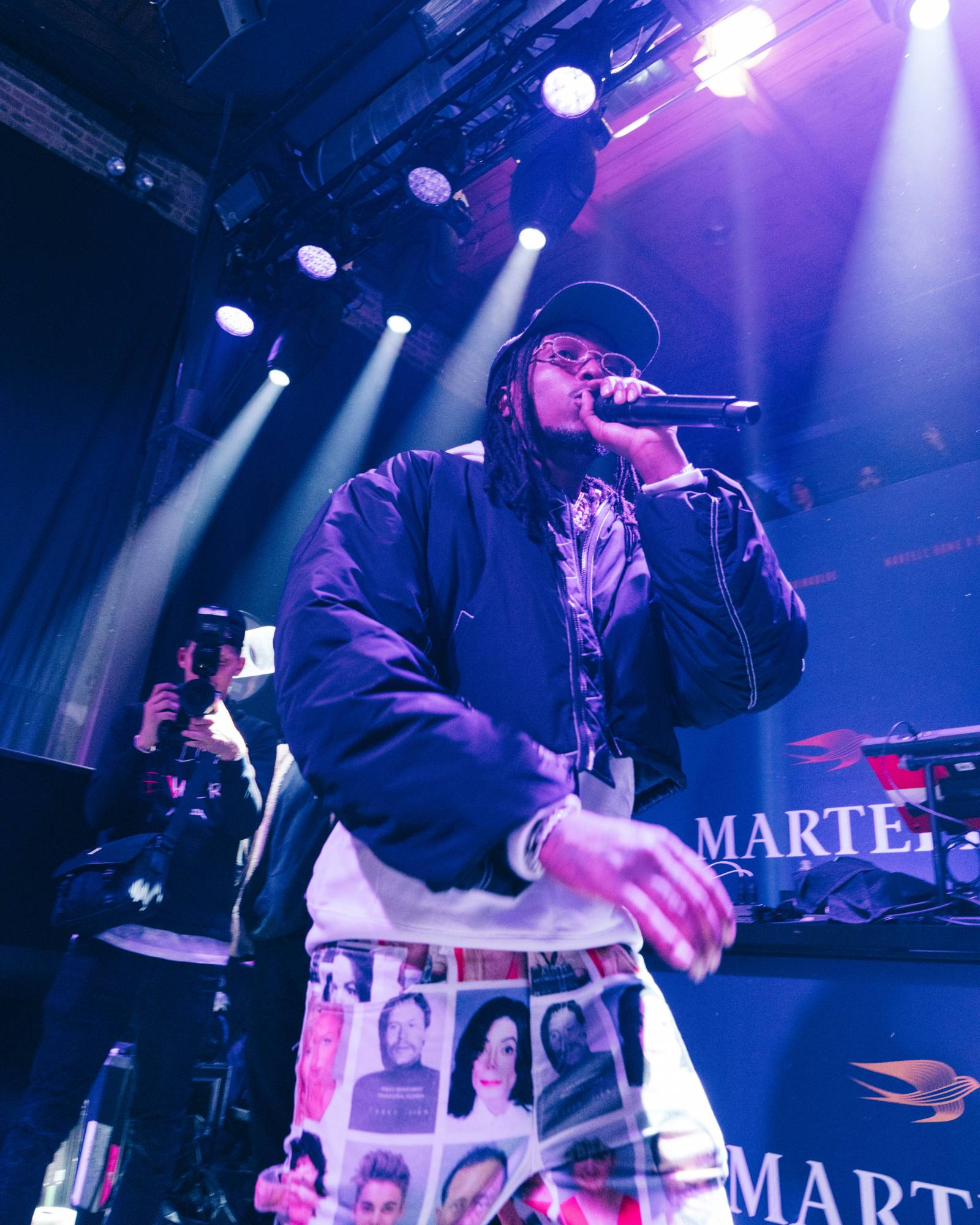 Quavo Hosts Martell & BET's HOME Experience During 2020 NBA All-Star Weekend
