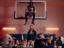 Polo G, Stunna 4 Vegas & NLE Choppa Turns Out High School Pep Rally In 'Go Stupid' Video