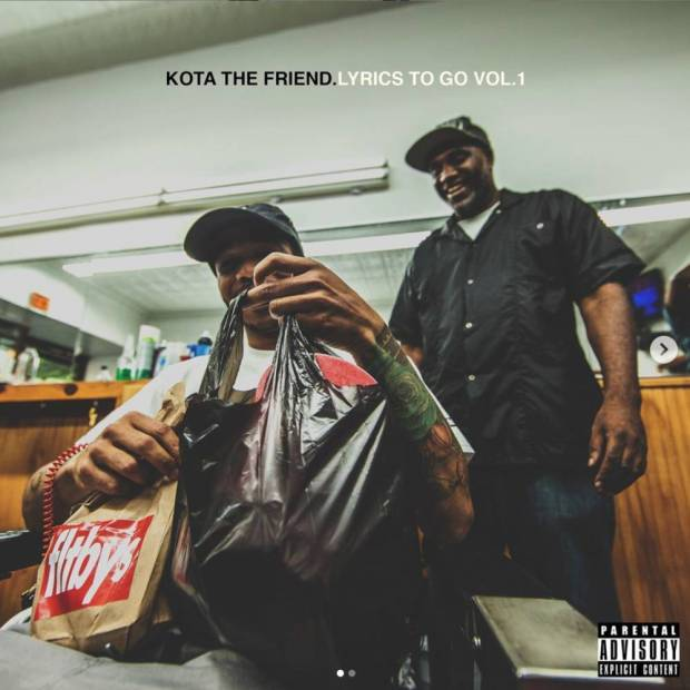Review: Kota The Friend Wanders Through His Notebook On 'Lyrics To Go Vol. 1'