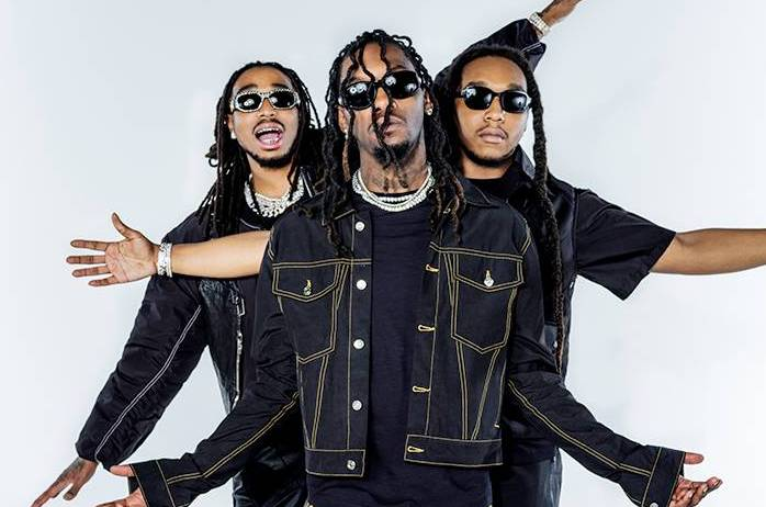 "Migos, Travis Scott & Young Thug Link For Futuristic ""GNF"" Video"