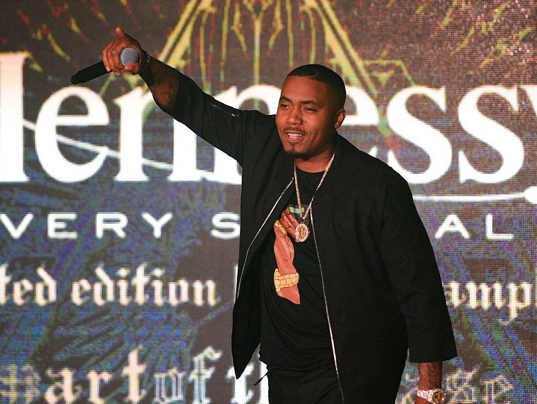 Nas Cements NBA Hennessy Association With the Commercial Lines