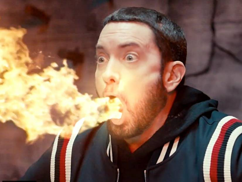 Eminem's 'Godzilla' Video Pays Tribute To Juice Wrld