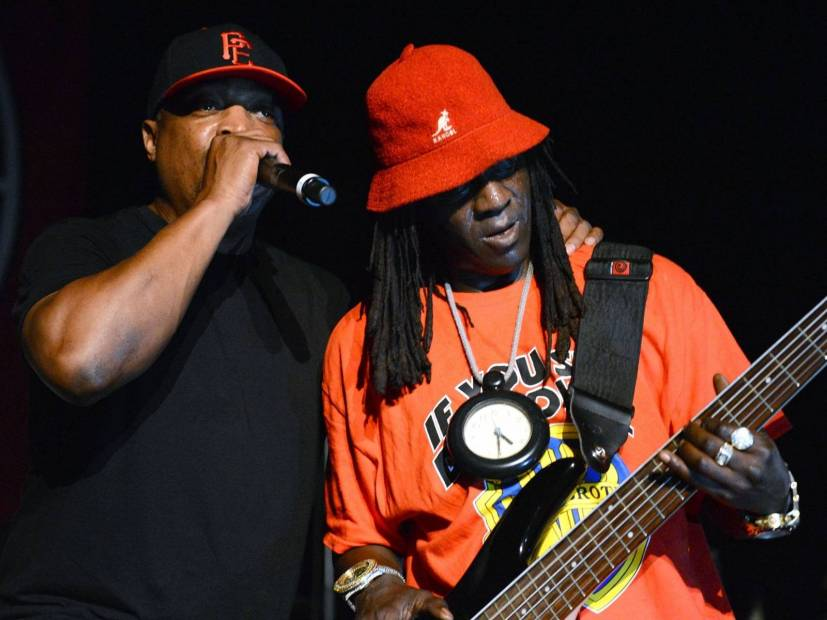 Public Enemy's Chuck D & Flavor Flav Blast April Fool's Day