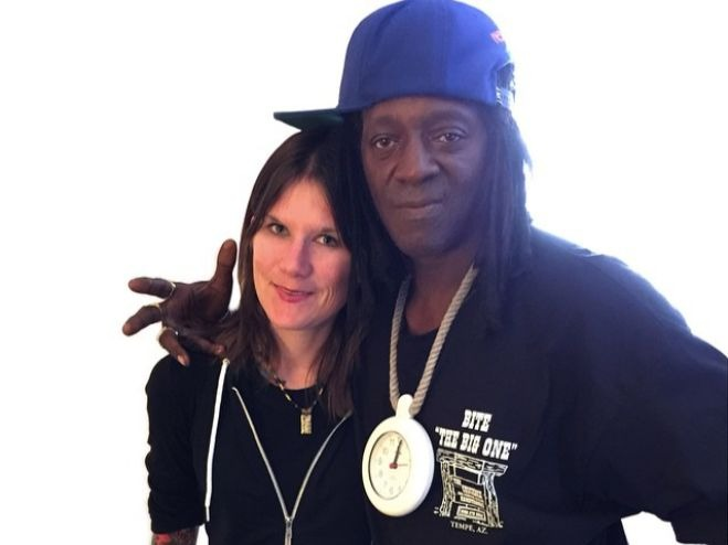 Mother Of Flavor Flav's Son Resorts To Selling Off His Merch To Support Child