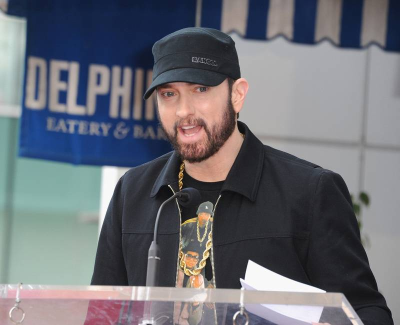 Eminem Donates Mom's Spaghetti To Healthcare Workers In Detroit