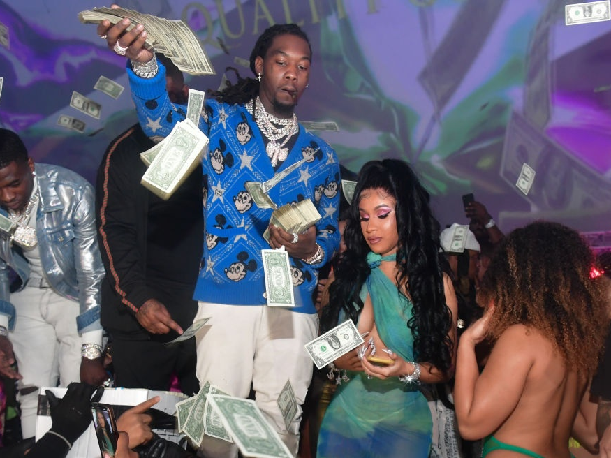 Offset's Baby Mama Claims She's 'Struggling' With 'Limited Financial Support'