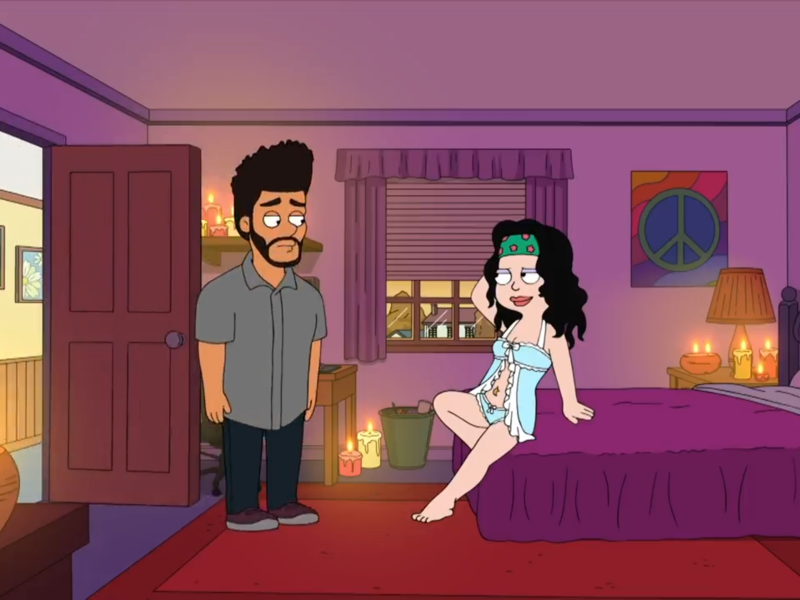 "The Weeknd Sings ""I am a Virgin"" In His 'American Dad' Debut"