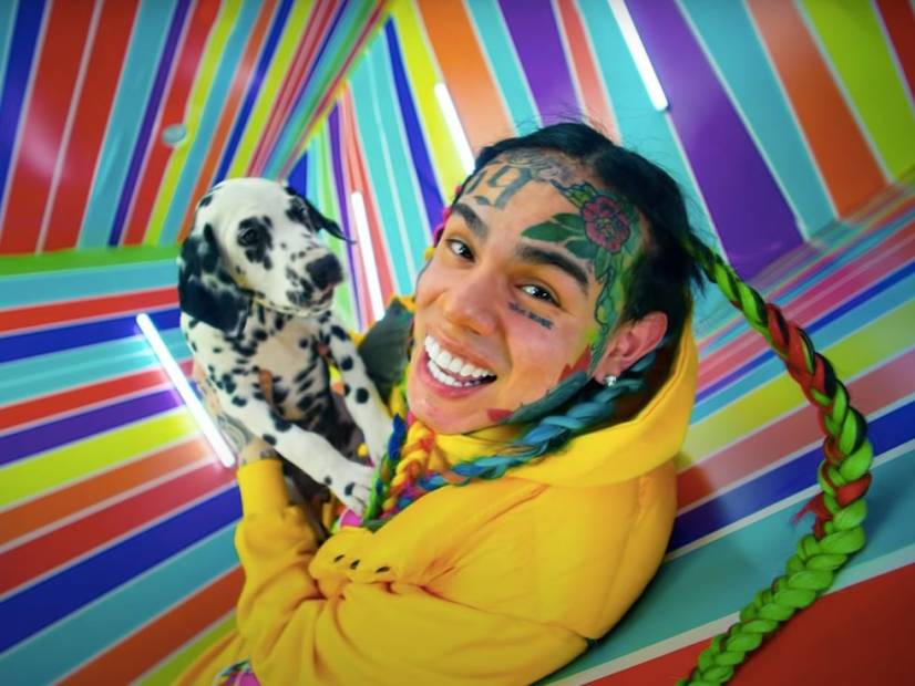 Tekashi 6ix9ine Dogs Former Sara Molina, After She's Spotted With The Rich Boy