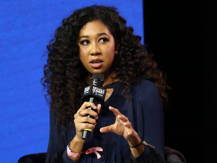 Russell Simmons' Daughter Calls Out Her Non-Black Friends Failing To Speak Out On George Floyd