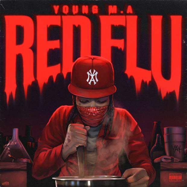 Review: Young M.A Stunts Without Purpose On 'Red Flu' EP