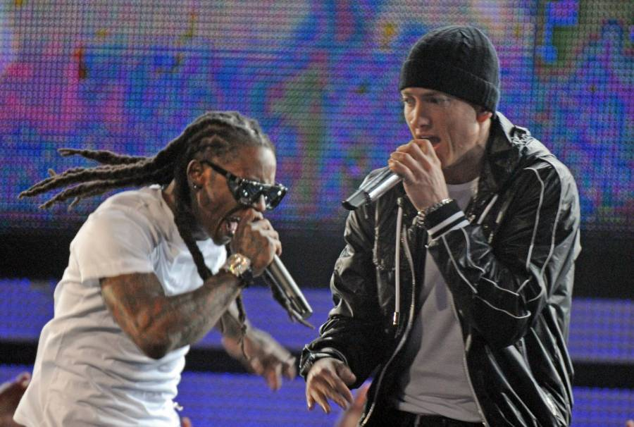 Eminem & Lil Wayne Share They Both Research Their Own Lyrics