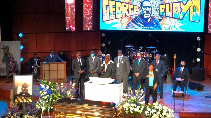 T.I., Ludacris, Kevin Hart, Tyrese, Tiffany Haddish & More Attend George Floyd's Memorial