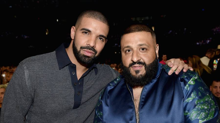 Drake Gifts DJ Khaled With Iced-Out OVO & We The Best Chain