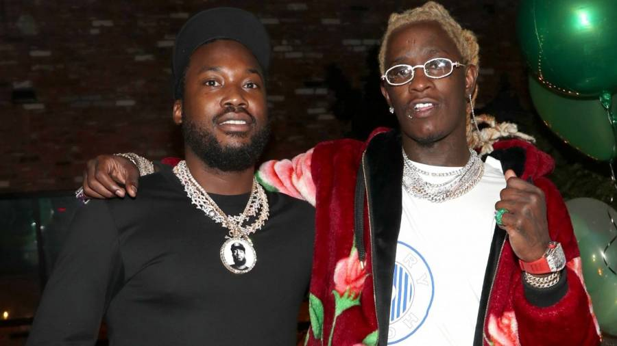 Young Thug & Meek Mill Defend James Harden's Blue Lives Matter Mask