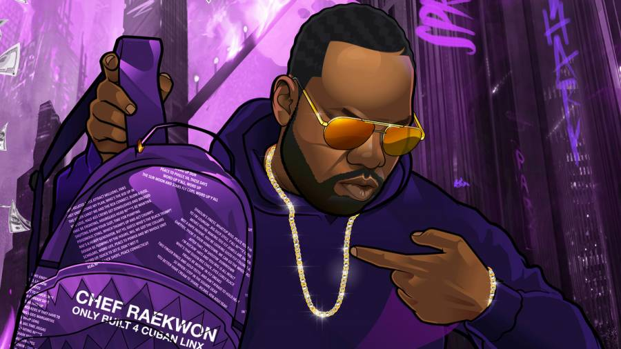 Raekwon Celebrates 'Only Built 4 Cuban Linx' 25th Anniversary With 'The Purple Tape' Backpack