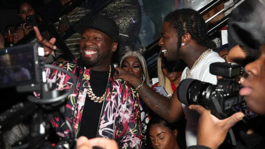 50 Cent Celebrates Pop Smoke's Posthumous No. 1 Billboard 200 Debut