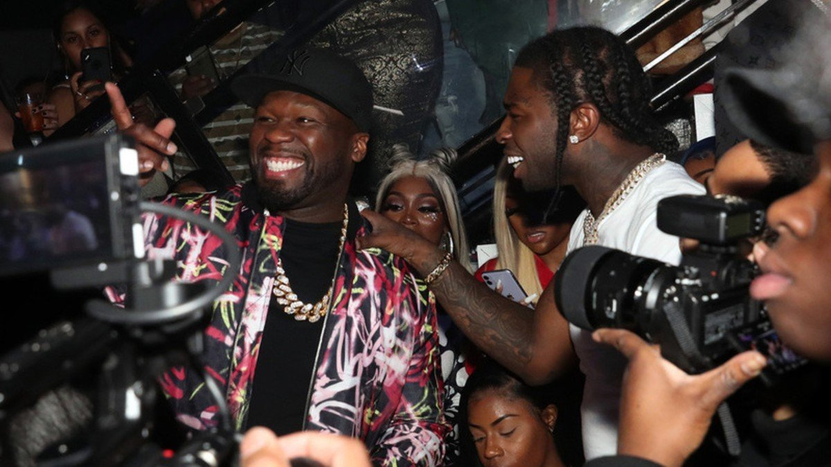 50 Cent & Roddy Ricch Make Pop Smoke's 'The Woo' Video Feel Authentic