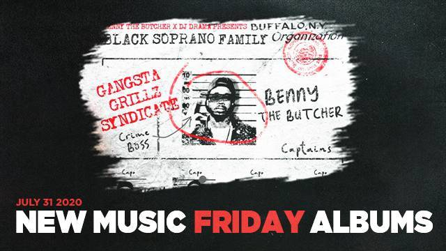 New Music Friday - New Albums From Benny The Butcher, E-40, Shoreline Mafia & More