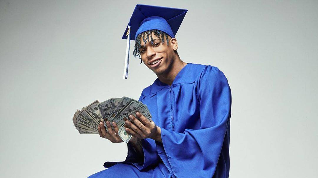 NLE Choppa Dedicates High School Graduation To His Mother