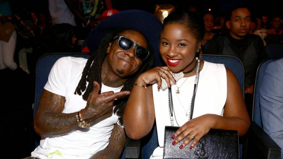 Lil Wayne's Daughter Reacts To His Latest PDA Post With Girlfriend Denise Bidot