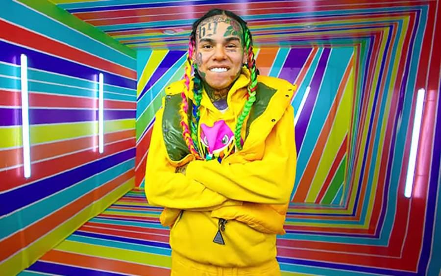 6ix9ine Posts Meek Mill Lawyer's 'ZAZA' Video Takedown Notice: 'He's A Bitch!'