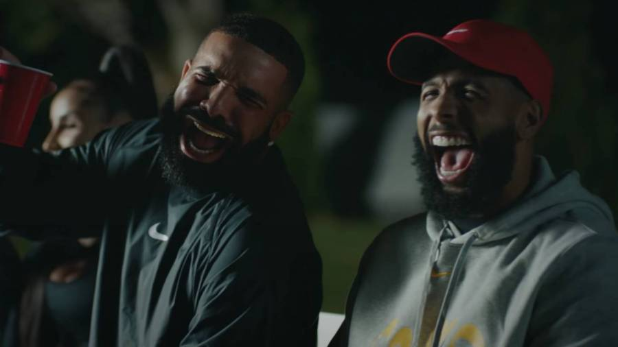All The Nikeness From Drake's New Video With Kevin Durant, Odell Beckham Jr. & Marshawn Lynch