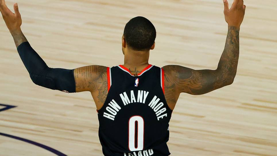 Damian Lillard a.k.a. Dame D.O.L.L.A. Drops 'Live From The Bubble' EP Hours After Beating Memphis Grizzlies