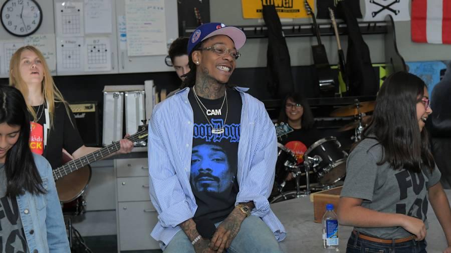 Wiz Khalifa Lights One Up & Skates With DoggFace208