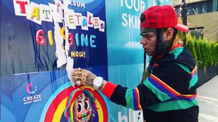 Billboard Reports Tekashi 6ix9ine's 'TattleTales' Bundles Were Counted In Disappointing Debut