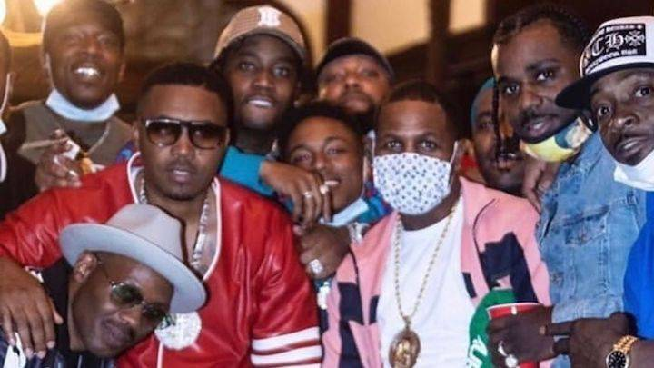 Nas, A$AP Ferg & Fivio Foreign Burn Up NYC Shooting 'Spicy' Video